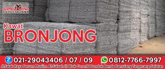 Jual Kawat Bronjong, Kawat Bronjong Pabrikasi, Kawat Bronjong Murah